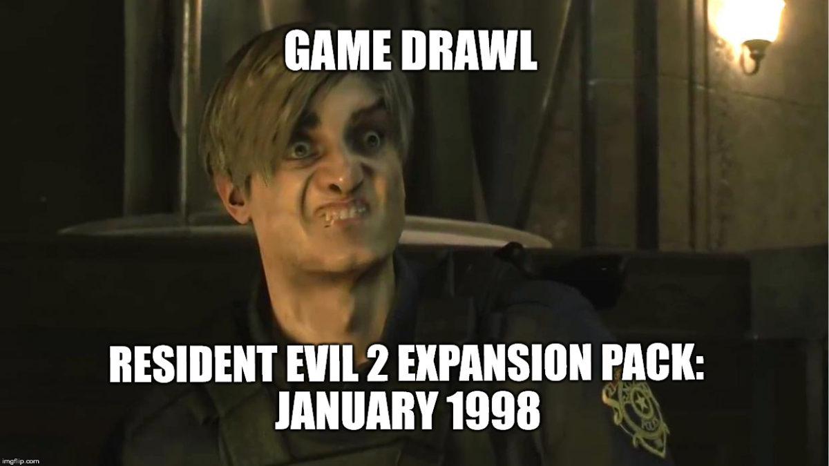 Game Drawl Resident Evil 2 EXPANSION PACK – January 1998