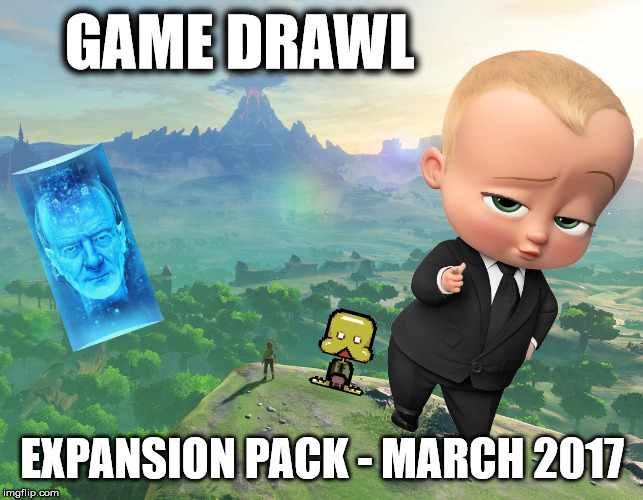 Game Drawl Expansion Pack – March 2017