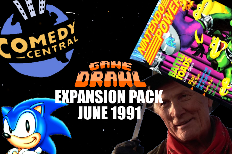 Game Drawl Expansion Pack – June 1991