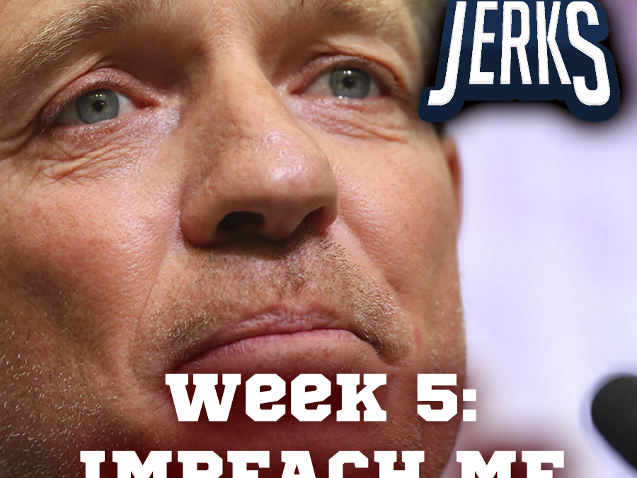 The SEC Jerks 2019 Week 5 – Impeach Me