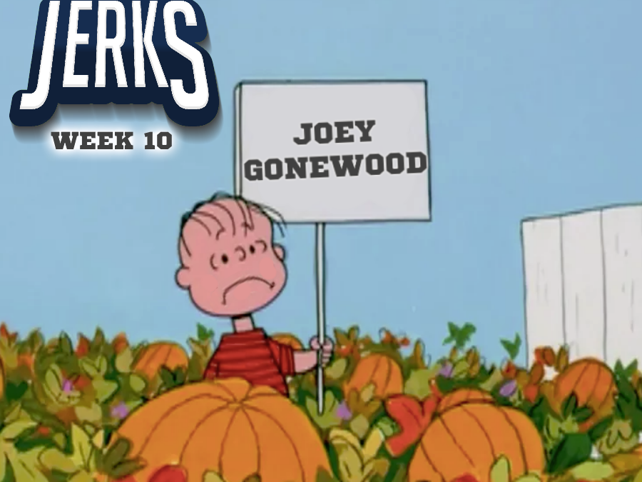 The SEC Jerks 2019 Week 10 – Joey Gonewood