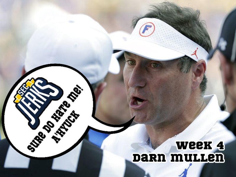 The SEC Jerks 2020 Week 4 – Darn Mullen