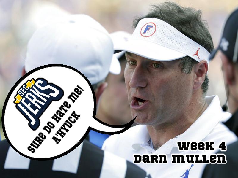 The SEC Jerks 2020 Week 4 – Darn Mullen