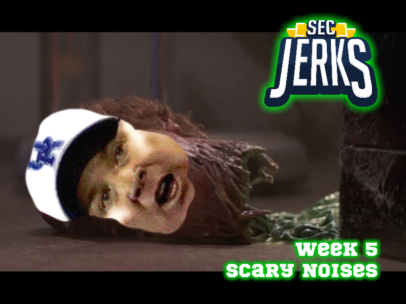 The SEC Jerks 2020 Week 5 – Scary Noises