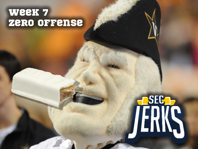 The SEC Jerks 2020 Week 7 – Zero Offense