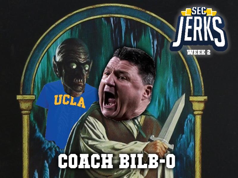 The SEC Jerks 2021 Week 2 – Coach Bilb-O
